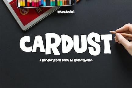 Cardust - Fun Font RG