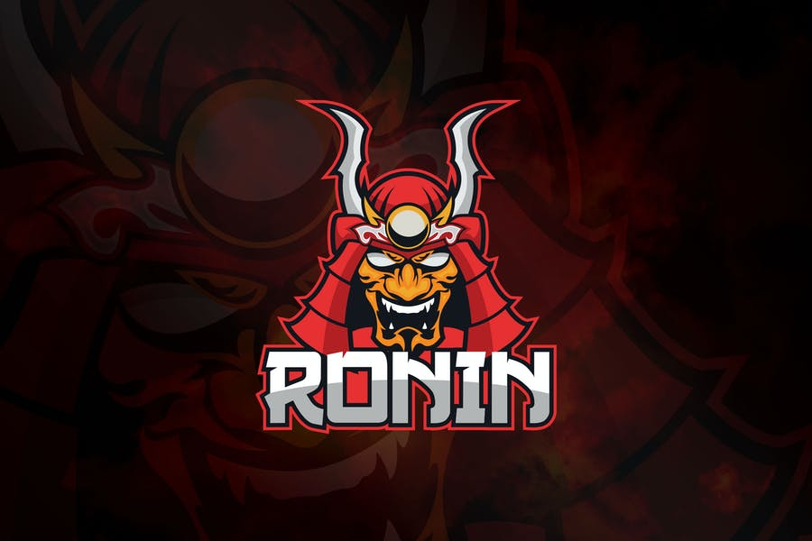 Ronin -  Mascot & Logo Esport RB