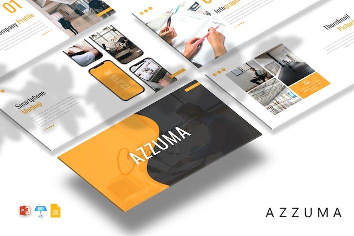 Thumbnail for Azzuma - Business Presentation Template