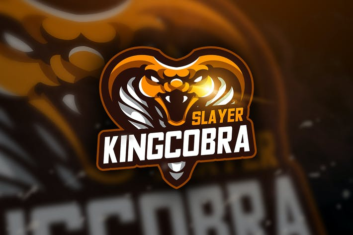 Thumbnail for King Cobra Slayer - Mascot & Esport Logo