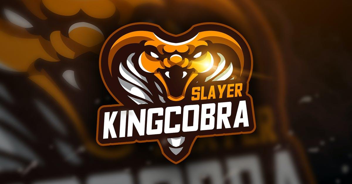 Download King Cobra Slayer - Mascot & Esport Logo by aqrstudio