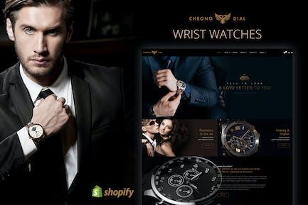 Chrono Dial - Tema de reloj Shopify