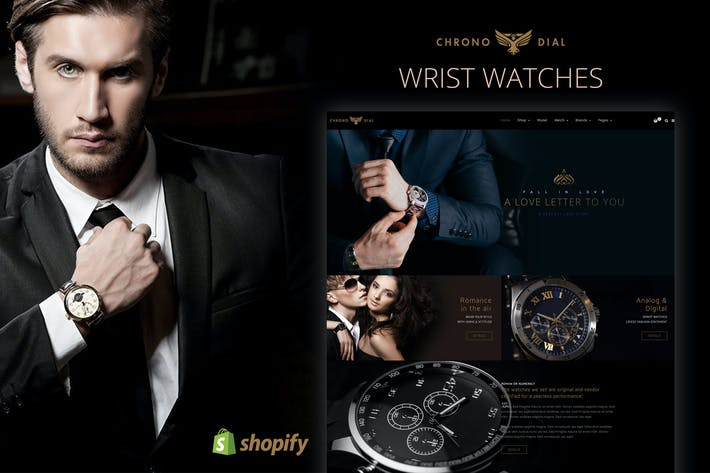 Thumbnail for Chrono Dial - Watch Shopify theme