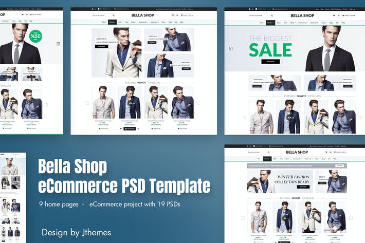Thumbnail for Bella Shop - eCommerce Store PSD Template