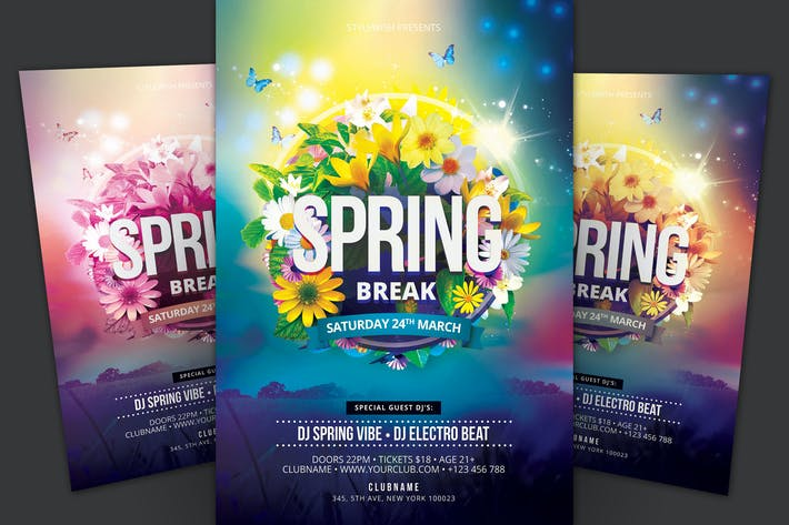 Thumbnail for Spring Break Flyer
