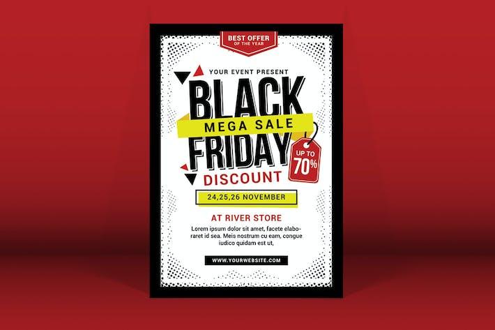 Thumbnail for Black Friday Sale Flyer