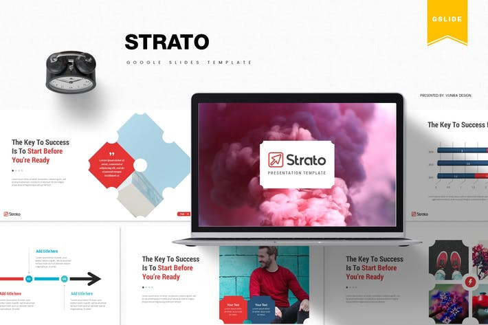 Thumbnail for Strato | Google Slides Template