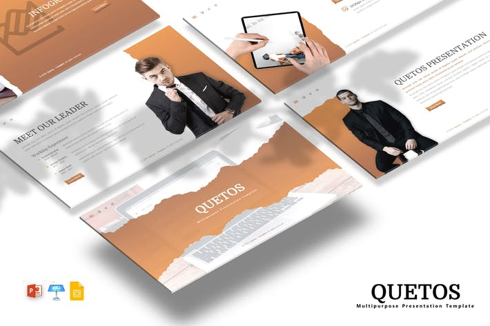 Thumbnail for Quetos - Powerpoint / Google Slides / Keynote