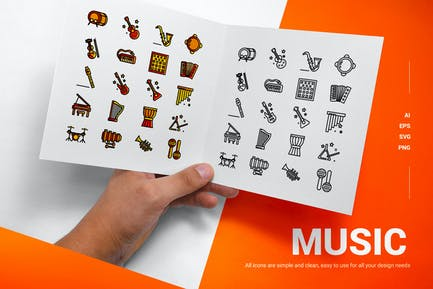 Musik - Icons