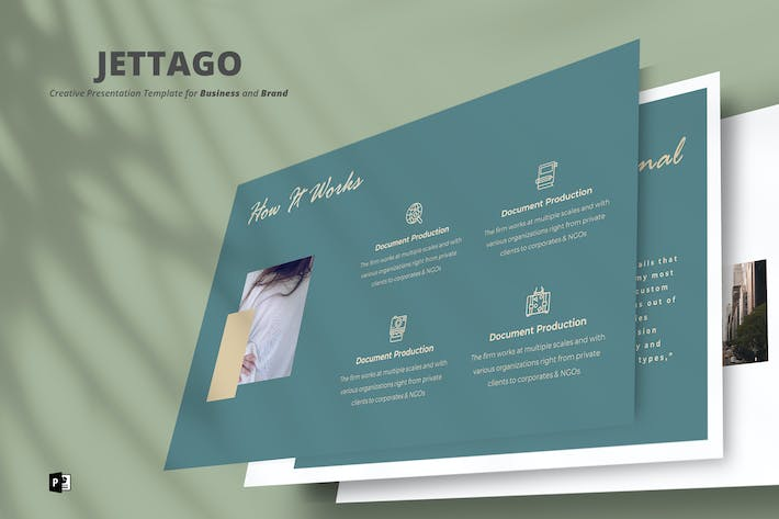 Thumbnail for Jettago PowerPoint Template