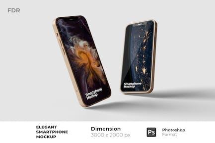 Elegantes Smartphone-Modell
