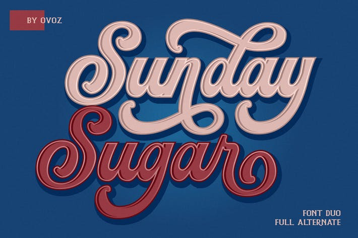 Cover Image For Sunday Sugar Script Font