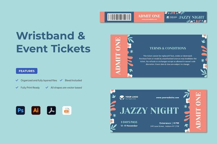 Thumbnail for Événement Ticket