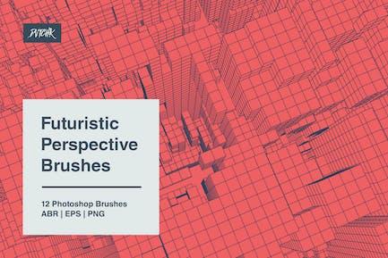 Futuristic Perspective Brushes