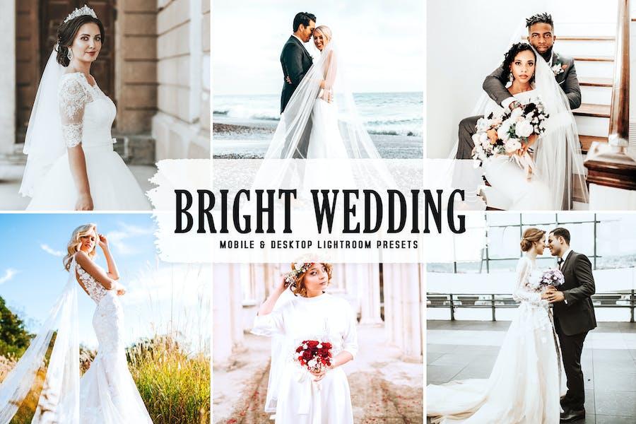 Яркие свадебные мобильные и настольные пресеты Lightroom