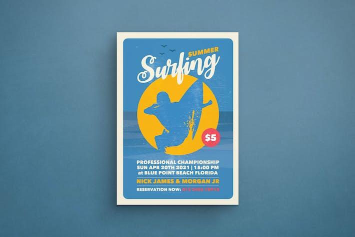 Thumbnail for Surfen Flyer