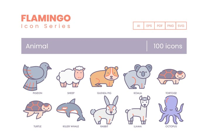 Thumbnail for Cute Animal Icons