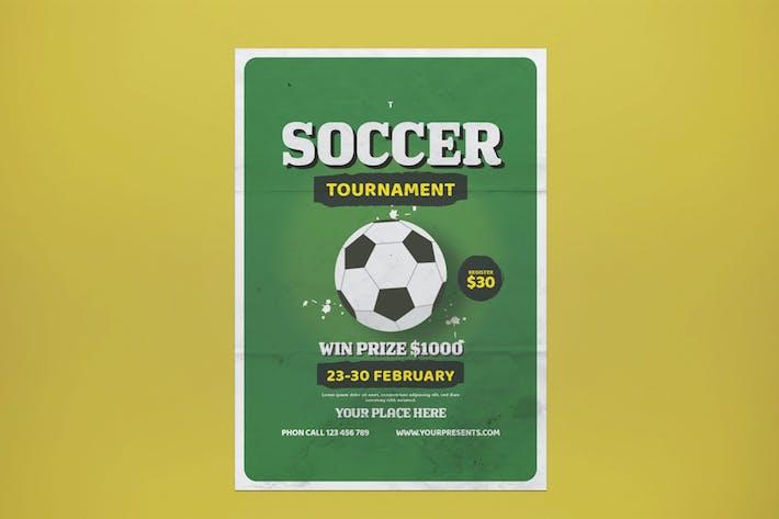Thumbnail for Soccer Tournament Flyer