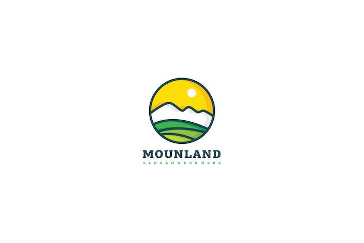 Thumbnail for Mountain Land Logo Template