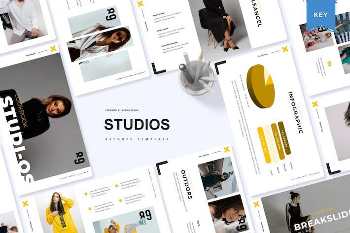 Thumbnail for Studios | Keynote Template