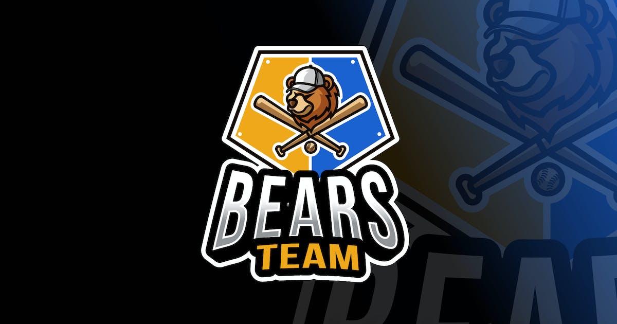 Download Bears Baseball Logo Template by IanMikraz
