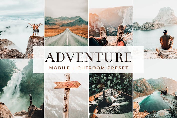 Thumbnail for Adventure & Travel Lightroom Mobile Presets