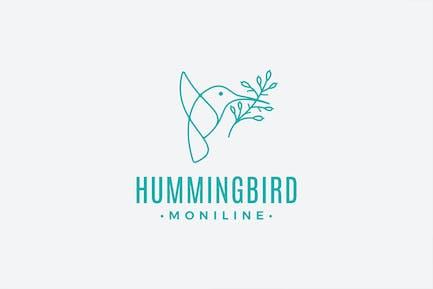 Hummingbird Monoline Logo