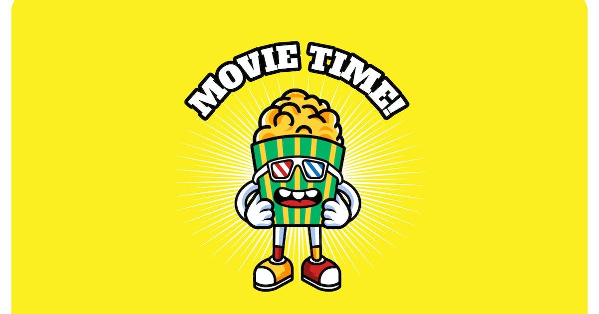 Download Pop Corn Movie - Mascot & Esport Logo by aqrstudio
