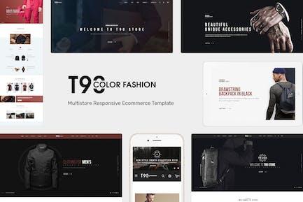 T90 - Tema OpenCart Responsivo a la moda