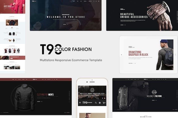 Thumbnail for T90 - Fashion Responsive OpenCart Theme