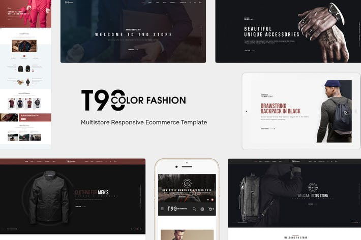 Cover Image For T90 - Fashion Responsive OpenCart Theme