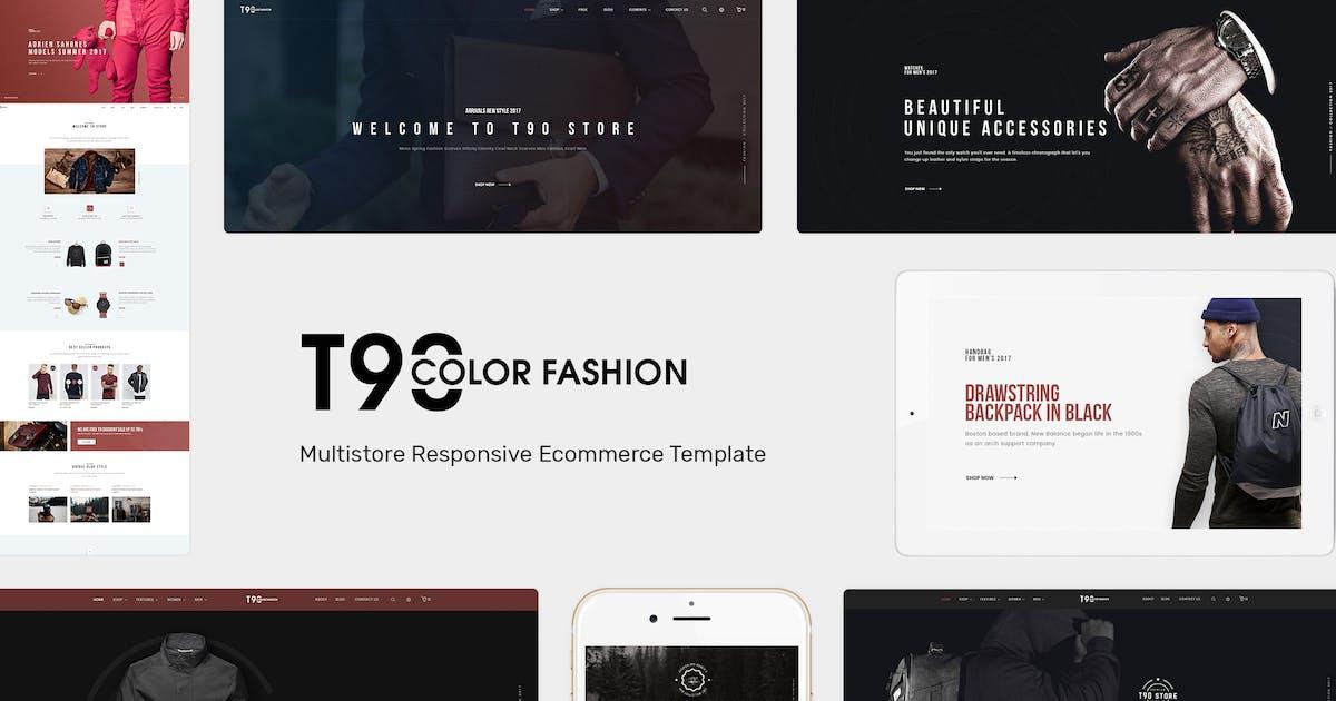 Download T90 - Fashion Responsive OpenCart Theme by posthemes