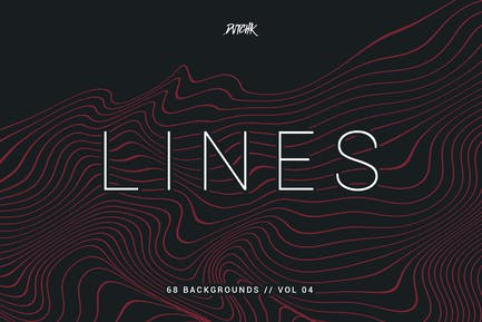 Lines | Abstract Wavy Backgrounds | Vol. 04