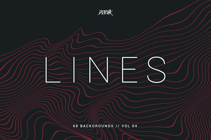 Thumbnail for Lines | Abstract Wavy Backgrounds | Vol. 04