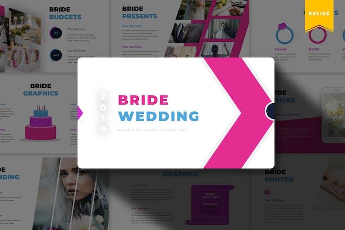Thumbnail for Bride Wedding | Google Slides Template