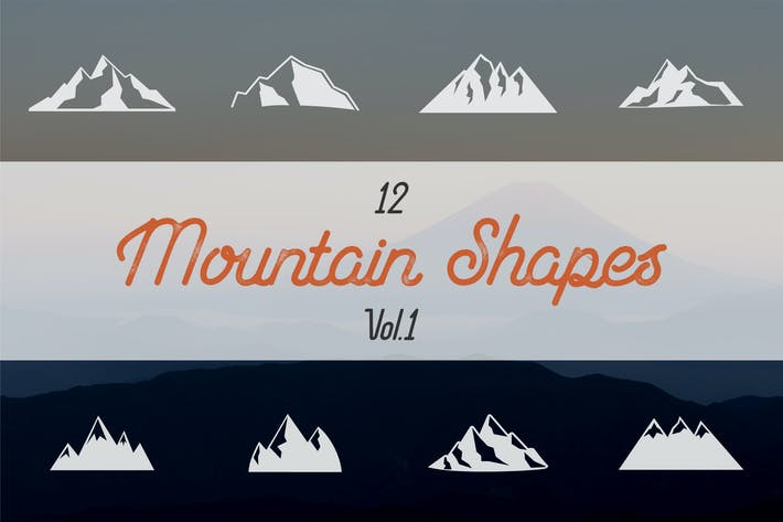 Thumbnail for Mountain Shapes Collection. Vol.1