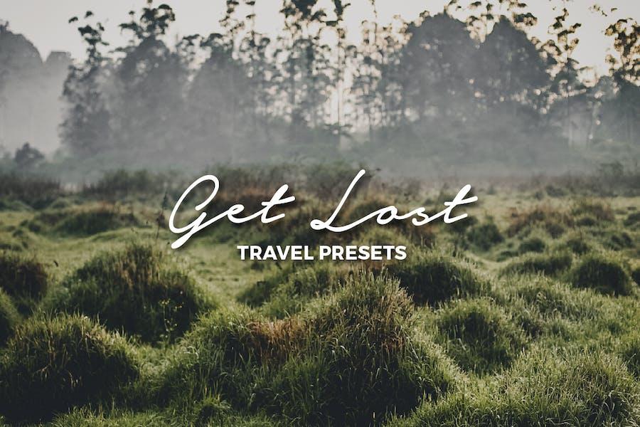 Получить потерянные пресеты Lightroom для путешествий
