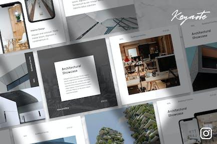 Noil - Architecture Instagram Kit Keynote