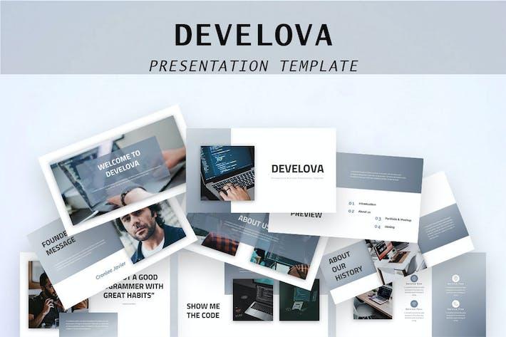 Thumbnail for Develova - Business PowerPoint Presentation