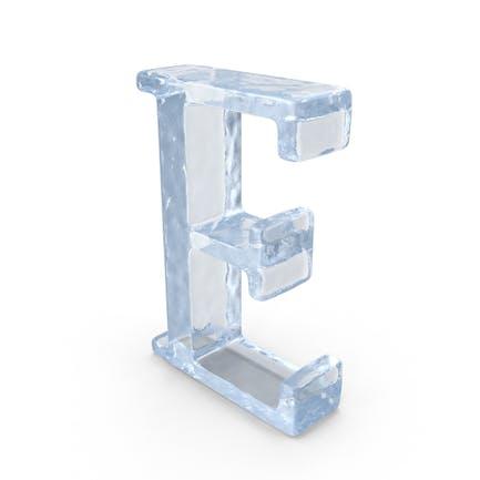 Ice Capital letter E