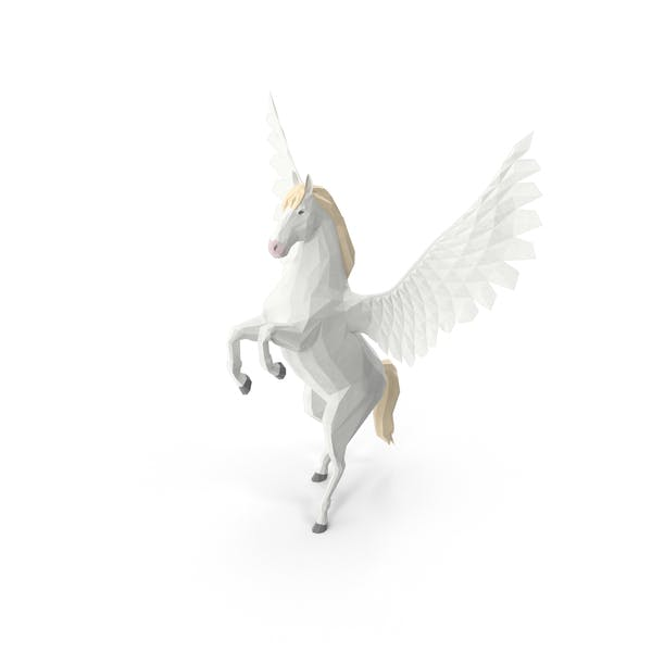 Low Poly Pegasus