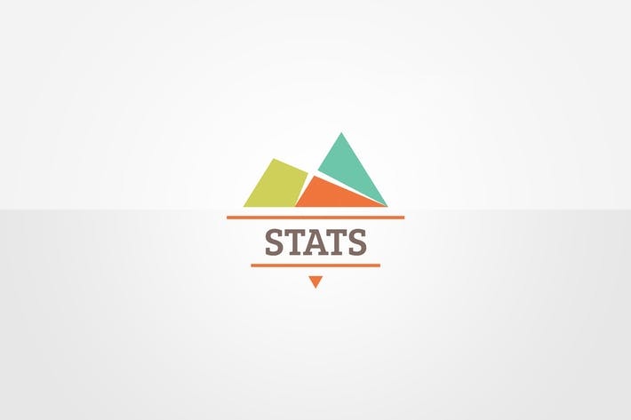 Thumbnail for Statistics Logo Template