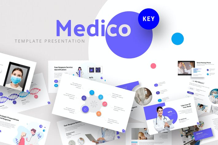 Medicalist - Healthcare Keynote Template