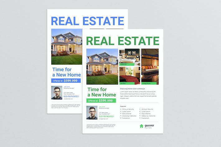 Cover Image For Simple Real Estate Flyer