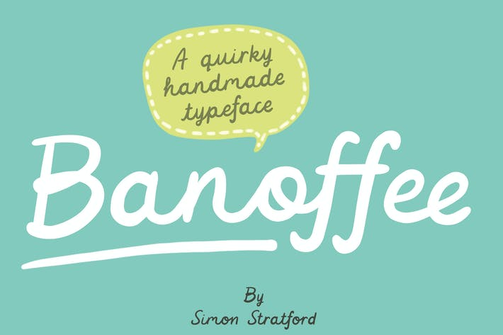 Thumbnail for Banoffee font