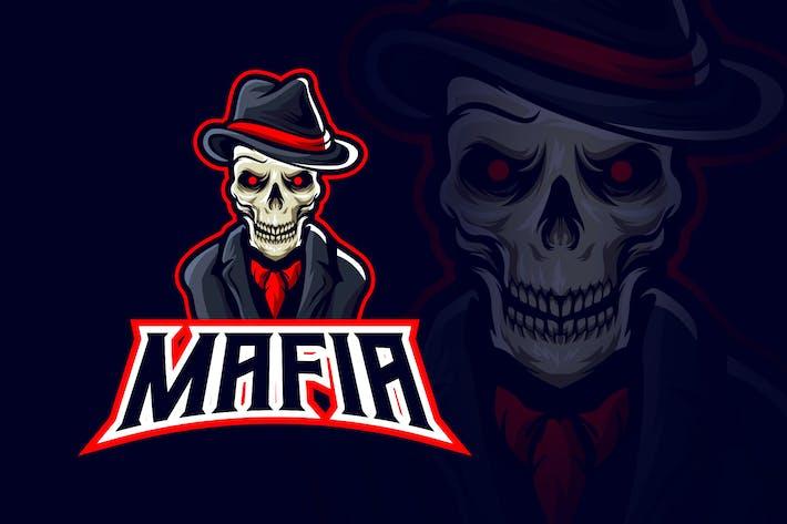 Thumbnail for Evil Skull Mafia Esport Logo