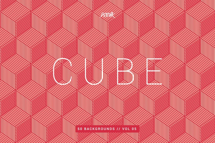 Thumbnail for Cube| Seamless Geometric Backgrounds | Vol. 05
