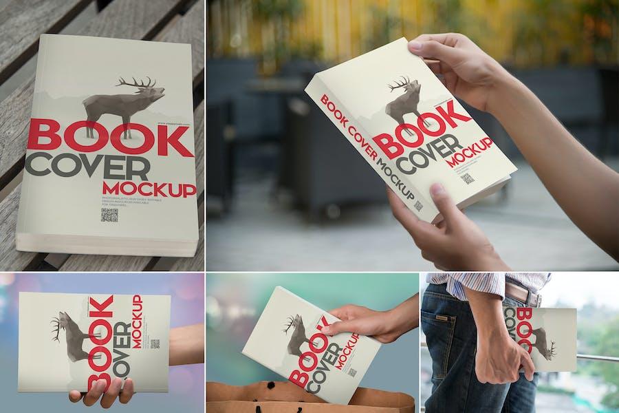 Beautiful Book Cover Mockups