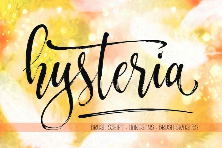 Thumbnail for HYSTERIA Brushscript