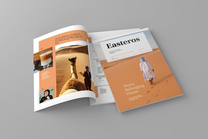 Thumbnail for Easteros - Шаблон журнала